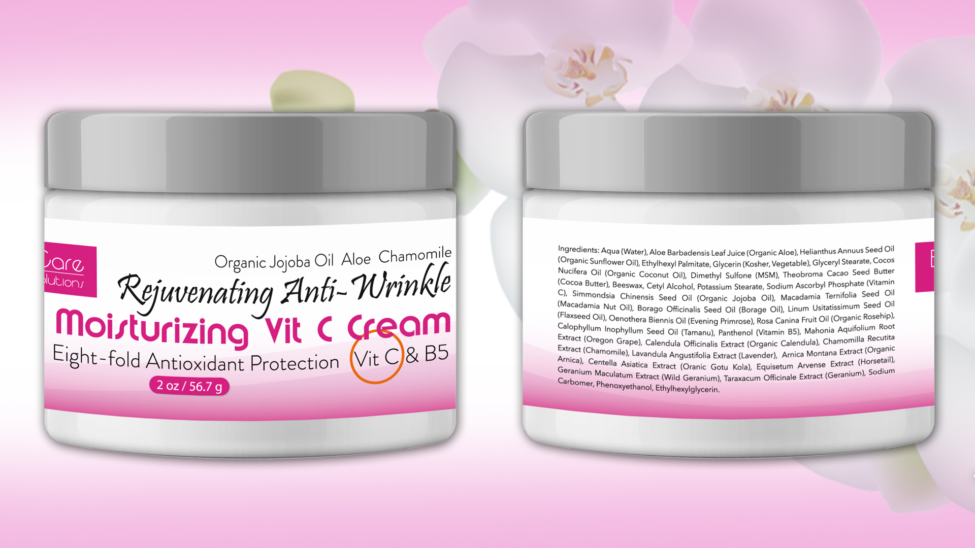 Elida Skin Care Vitamin C Cream with anti-aging and anti-wrinkle properties